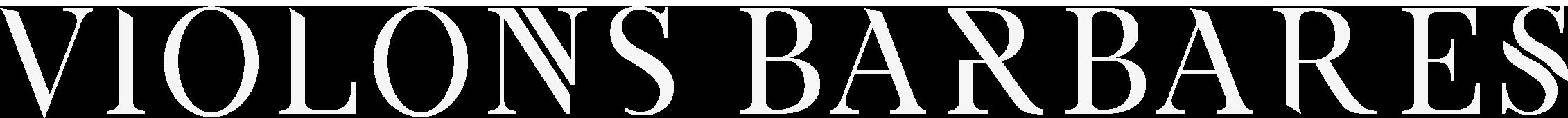Violons barbares - logo